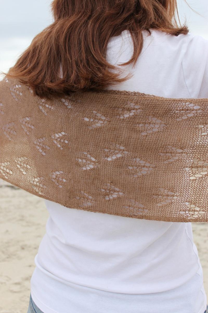 Sandpiper Scarf (Detail)