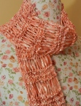 Cherry Blossom Drop Stitch Scarf